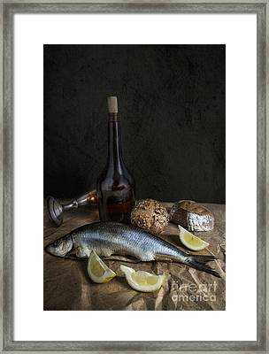 Herring Framed Print by Elena Nosyreva