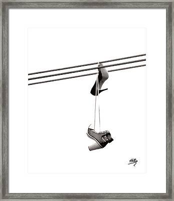 Hers Framed Print by Linda Hollis