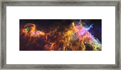 Herschel's View Of The Horsehead Nebula Framed Print by Nasa