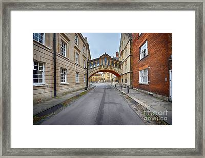 Hertford Bridge Framed Print