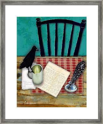 He's Gone Framed Print by Lisa Noneman