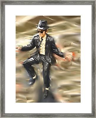 He's Rockin Framed Print
