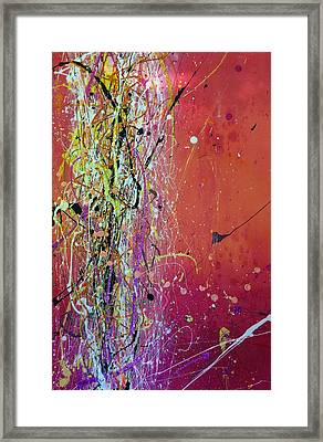 Hesitation Framed Print by Chel Bieze
