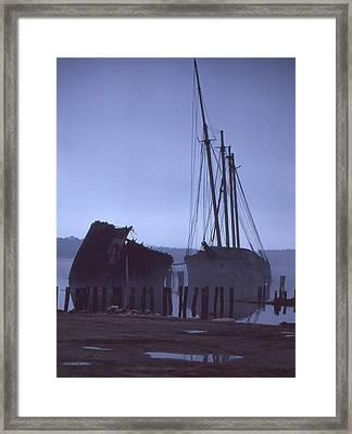 Hesper And Luther Little Framed Print