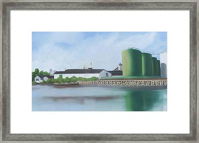 Hess Tanks From Costco Framed Print