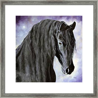 Hessel-the Gentle Giant Framed Print by Marina Petro