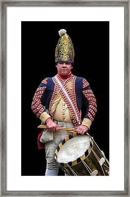 Hessian Grenadier Drummer Framed Print
