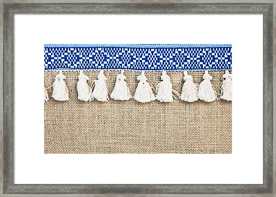 Hessian  Framed Print by Tom Gowanlock