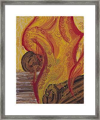Hestia Framed Print by Cassinda Downey