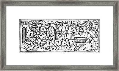 Het Kolven, 1497 Framed Print by Granger