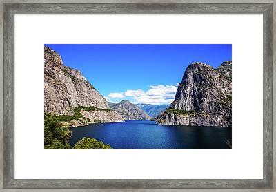 Hetch Hetchy Reservoir Yosemite Framed Print