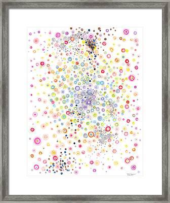 Heterogeneous Framed Print by Regina Valluzzi