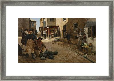 Hevva Hevva Framed Print by Percy Robert Craft