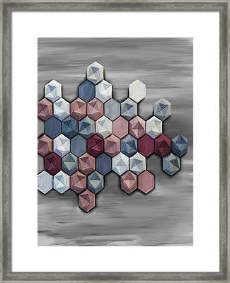 hex Framed Print