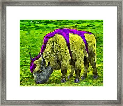 Hexabuffalo - Pa Framed Print by Leonardo Digenio