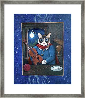 Hey Diddle Diddle Framed Print by Fairy Tails Portraits