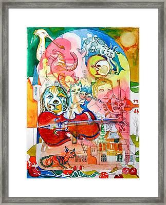 Hey Diddle Diddle Framed Print by Mike Shepley DA Edin