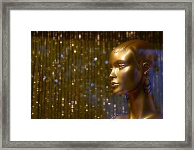 Hey Gold Looking Framed Print by Jez C Self
