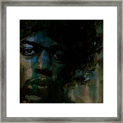 Hey Joe Retro Framed Print