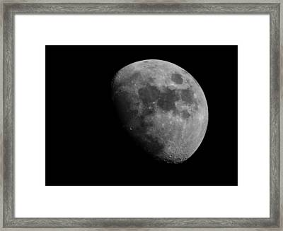 Hey Moon Framed Print by Mike Trapp