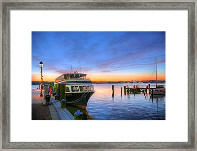 Hey Taxi Framed Print by JC Findley