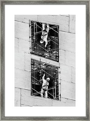 Framed Print featuring the photograph Hey You by Az Jackson