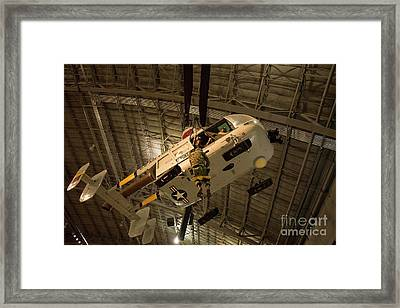 Hh 43 Rescue Helicopter Framed Print by David Bearden