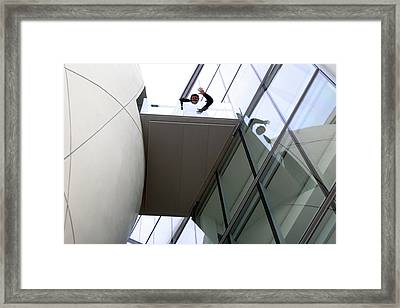 Hi Down There Framed Print by Jez C Self