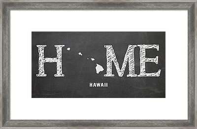 Hi Home Framed Print