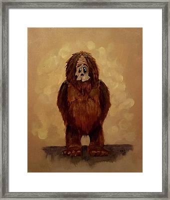 Hi, Im Scott Framed Print
