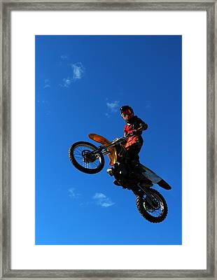 Hi There Framed Print