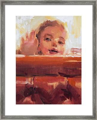 Hi There Framed Print by Merle Keller