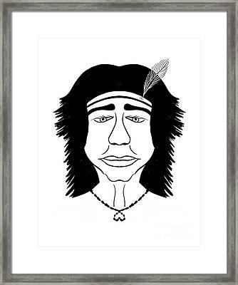 Hiawatha Framed Print