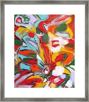 Hibiscus Framed Print by Alfredo Llana