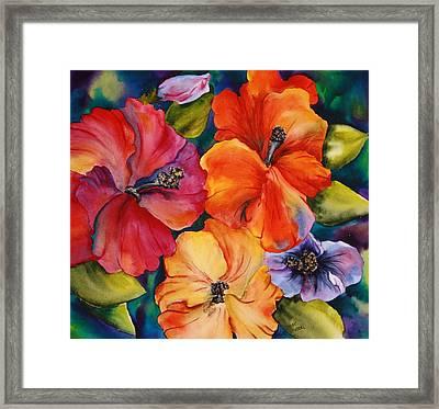 Hibiscus Mini Framed Print