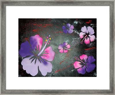 Hibiscus Framed Print by Trenton Heckman