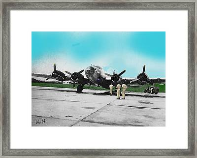 Hickam Fort Framed Print