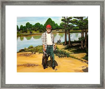 Hickie Framed Print