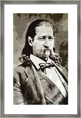 Hickok Framed Print