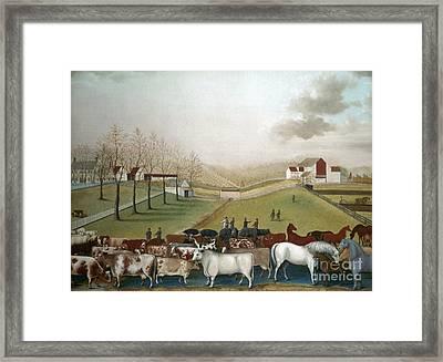Hicks: Cornell Farm, 1848 Framed Print by Granger