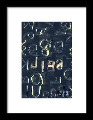Code Breaker Framed Prints