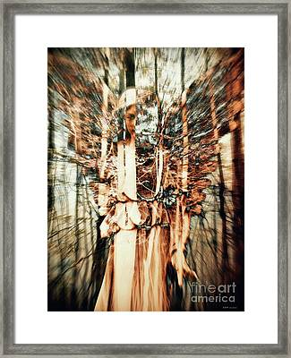 Hidden Angel 2 Framed Print by Elizabeth McTaggart