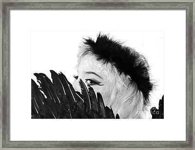Hidden Angel Framed Print