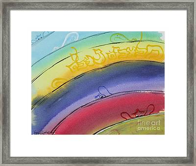 Hidden Angels  Malacheem Nehaleem Framed Print