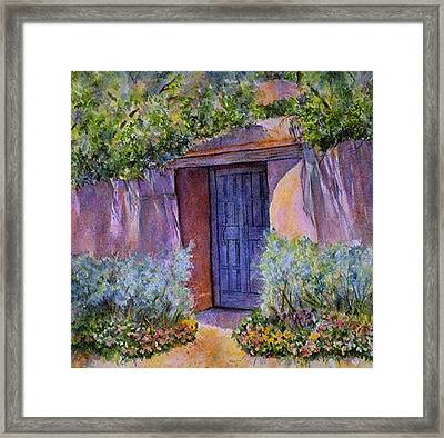 Hidden Assets Framed Print