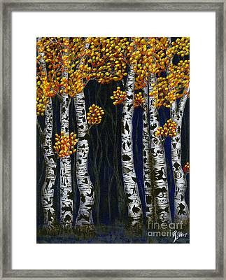 Hidden Autumn  Framed Print