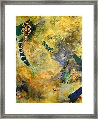 Hidden Beauty Framed Print by Terry Honstead