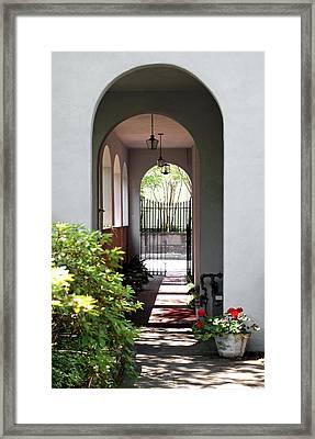 Hidden Corridor Framed Print