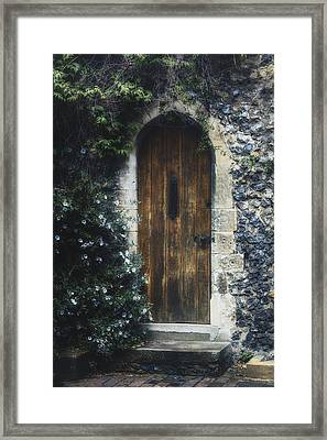 Hidden Door Framed Print by Joana Kruse