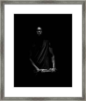 Framed Print featuring the photograph Hidden by Eric Christopher Jackson